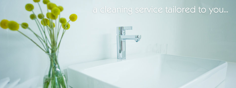 a cleaning service tailored for you